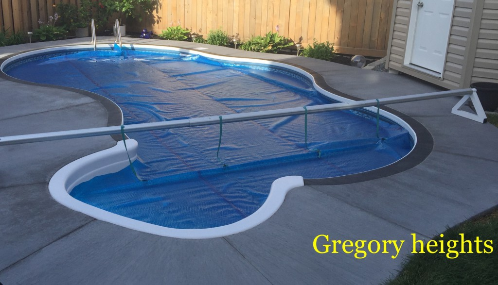 stamped concrete pool patio. Stamped Concrete Pool Patio In Gregory Heights I